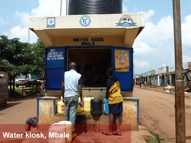 Water Kiosk, Mbale (Urban Investments)